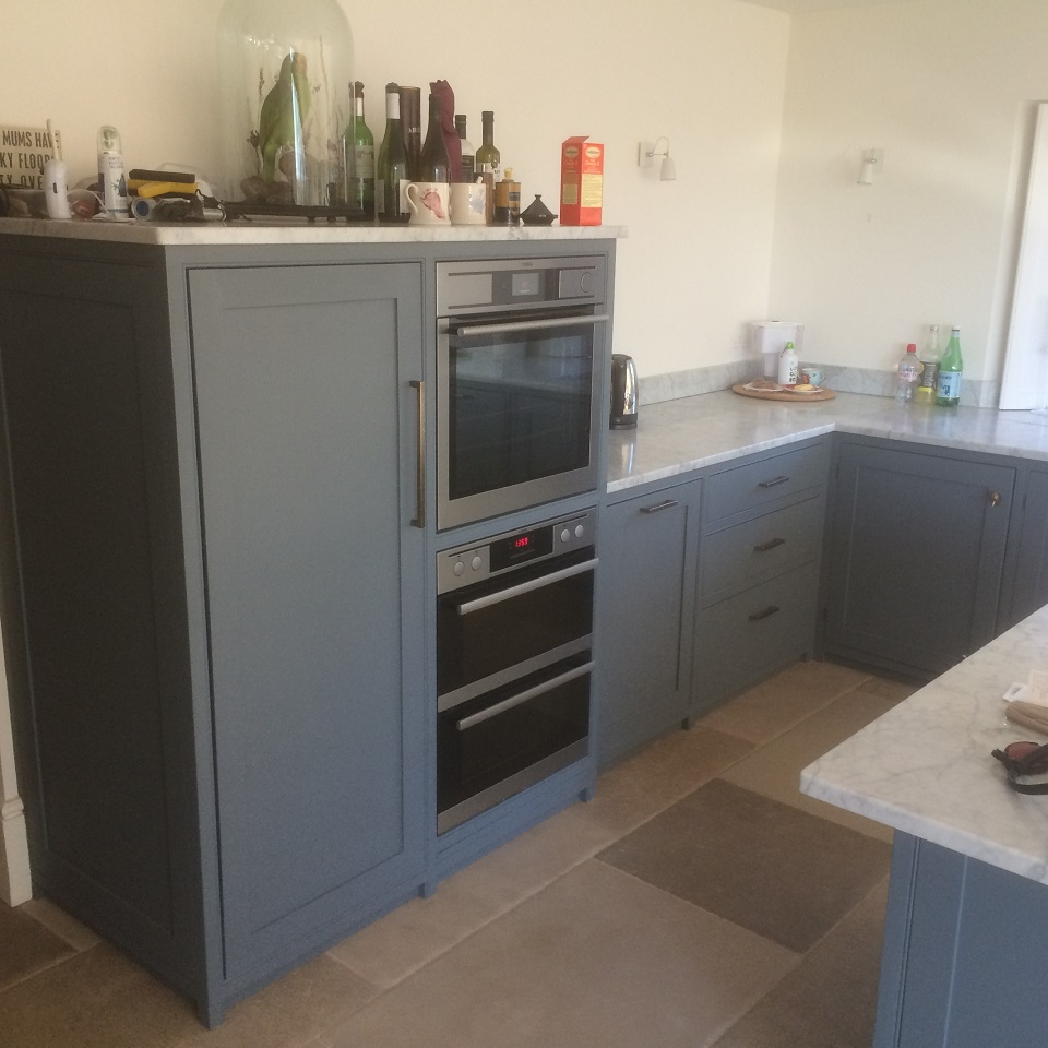 Hand Made In Frame Kitchens company Worcestershire