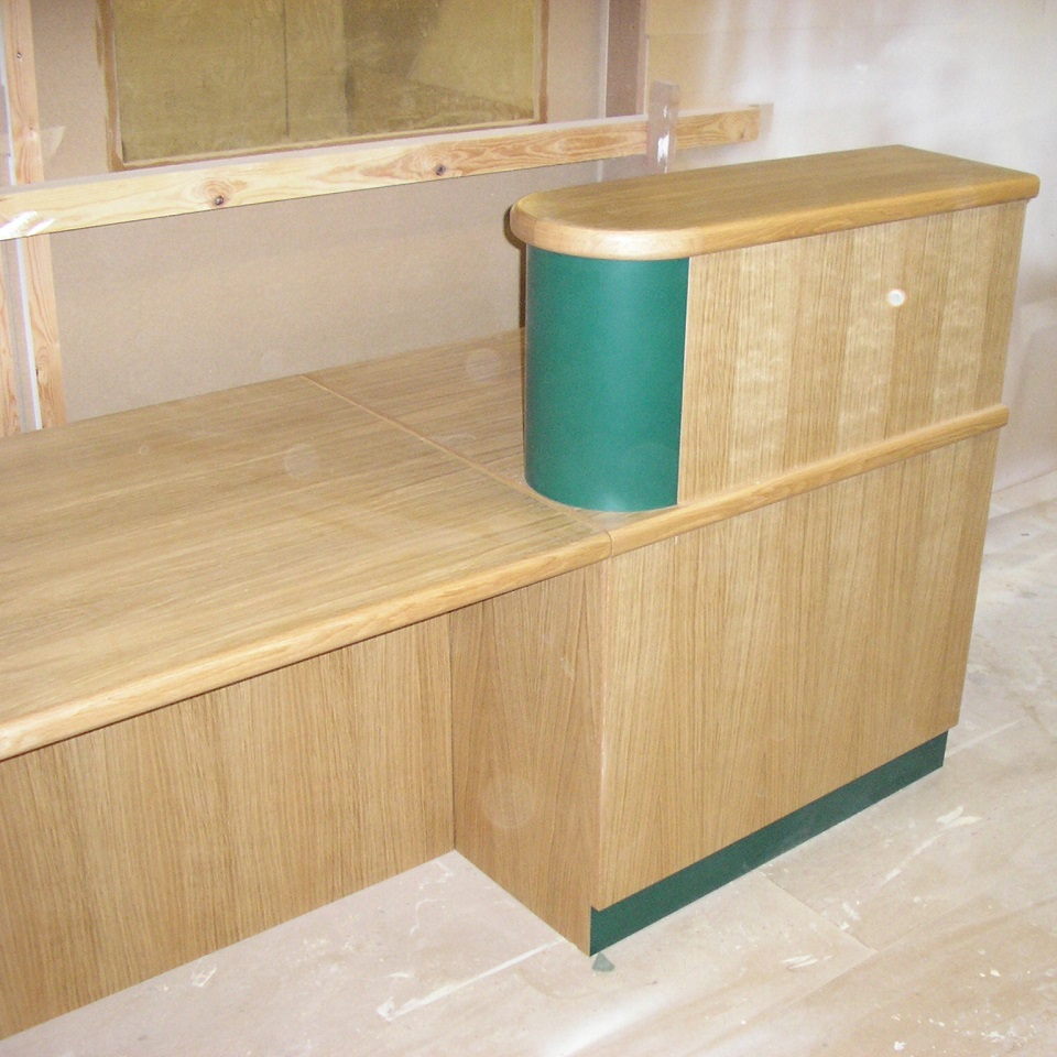 reception counter makers Worcester