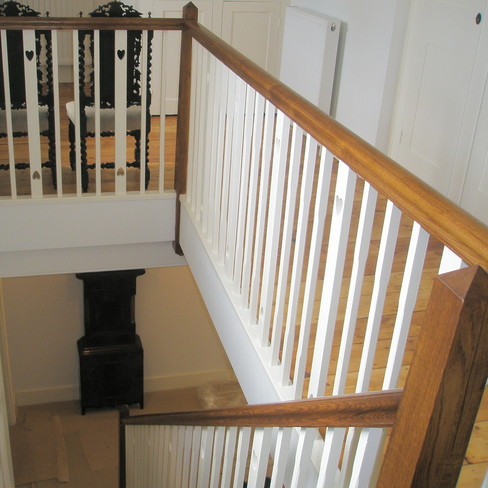 Staircases hand made worcestershire