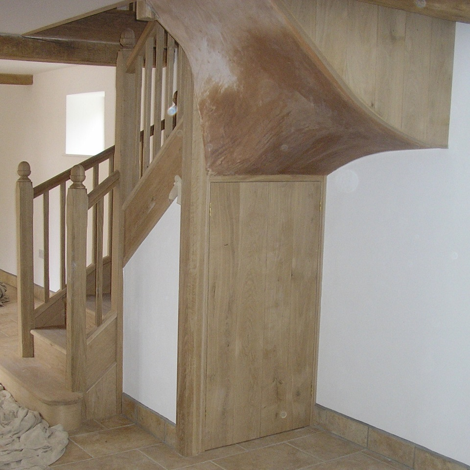 Staircases custom built worcester